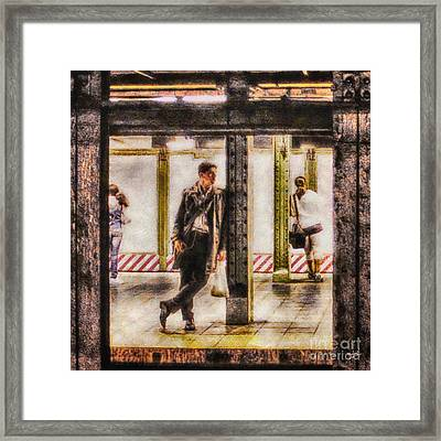 The Long Wait Framed Print by Nishanth Gopinathan