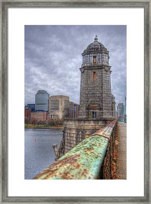 The Longfellow Bridge - Boston Framed Print by Joann Vitali