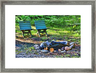 The Longing Framed Print by Cathy  Beharriell