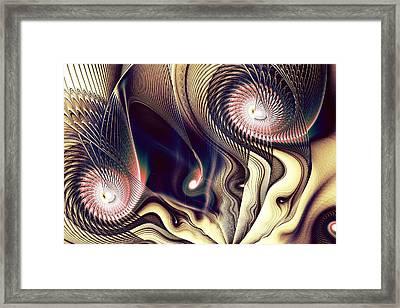 The Look Framed Print by Anastasiya Malakhova