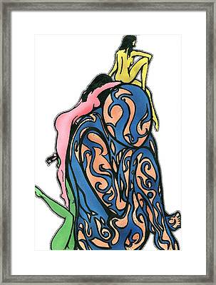 The Lookout Framed Print by Tiffany Selig