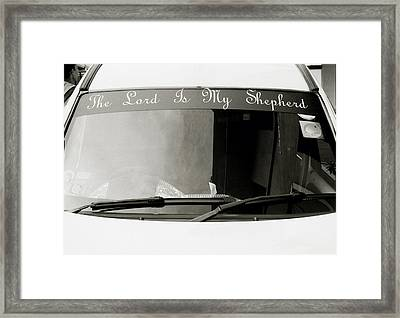 The Lord Is My Shepherd Framed Print by Shaun Higson