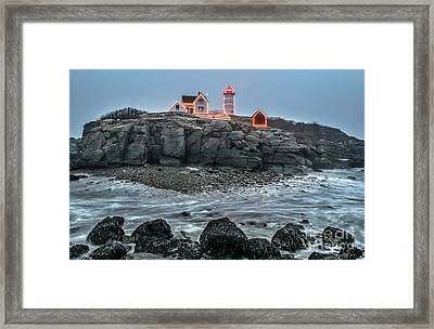 The Lost Land Bridge Framed Print by Scott Thorp