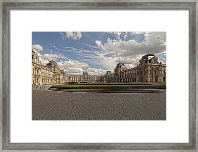 The Louvre Framed Print by Mauro Celotti