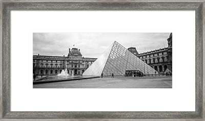 The Louvre  Framed Print by Steven  Taylor