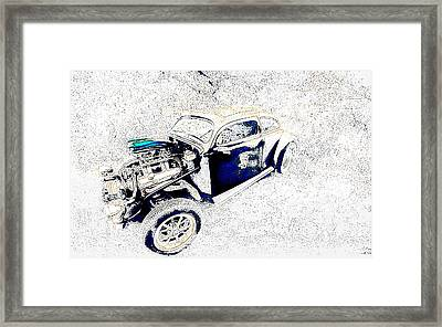 The Love Bug Framed Print by Leitte Family