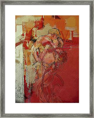 The Lovers  Framed Print by Corporate Art Task Force