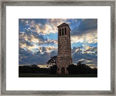 The Luray Singing Tower Framed Print by Lara Ellis