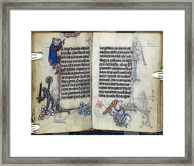 The Maastricht Hours Framed Print by British Library