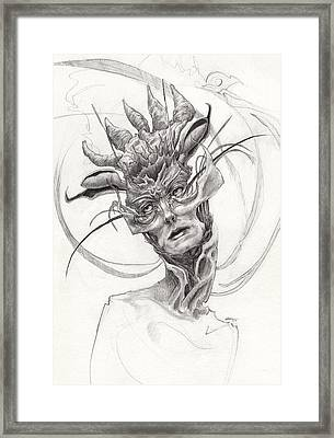 The Madame Framed Print by Ethan Harris