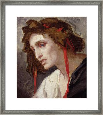 The Madman Framed Print by Thomas Couture