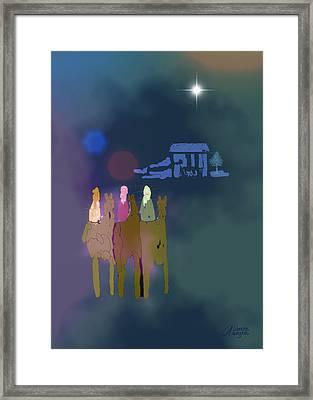 The Magi Framed Print by Arline Wagner