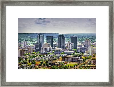 The Magic City Framed Print by Ken Johnson