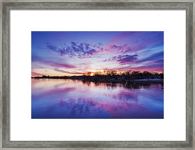 The Magic Hour Framed Print by Mircea Costina Photography