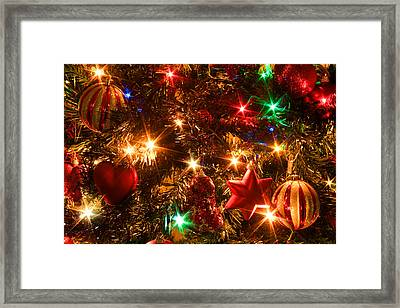 The Magic Of Christmas Framed Print by Julia Fine Art And Photography