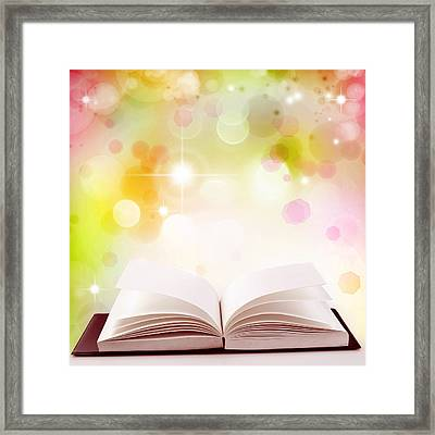 The Magic Of Knowledge Framed Print by Les Cunliffe