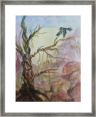 The Magic Tree Framed Print by Ellen Levinson