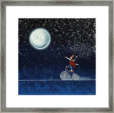 The Magician Framed Print by Graciela Bello