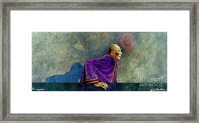 The Magician... Framed Print by Will Bullas