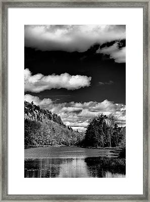 The Majestic Bald Mountain Pond  Framed Print by David Patterson