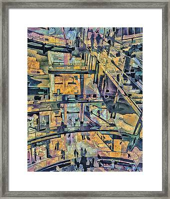 The Mall Framed Print by Pedro L Gili