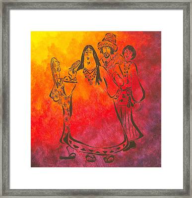 The Mamas And Papas Framed Print by Pamela Allegretto