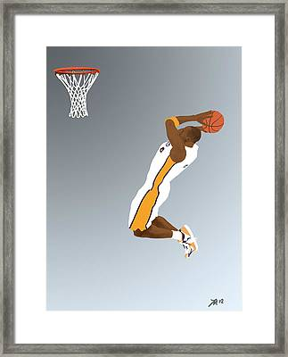 The Mamba Rises Framed Print by Lee McCormick