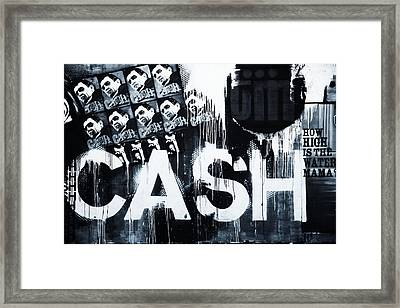 The Man In Black Framed Print by Dan Sproul