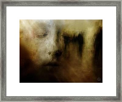 The Man Who Dreamt He Was A Sculpture Framed Print by Gun Legler