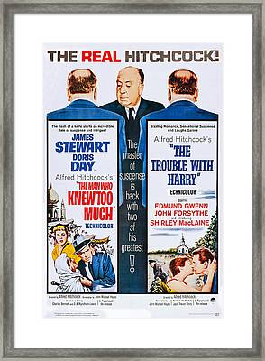 The Man Who Knew Too Much On Double Framed Print by Everett