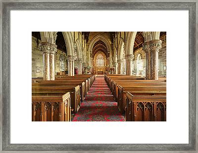The Marble Church Framed Print by Mal Bray