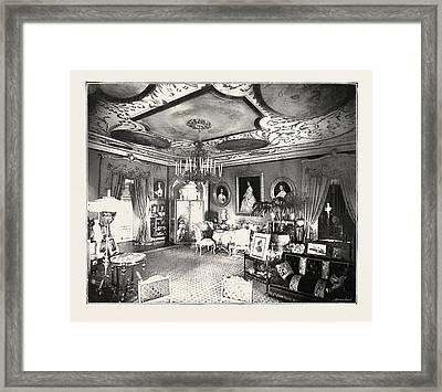 The Marriage Of Princess Marie Of Edinburgh Drawing Room Framed Print by English School