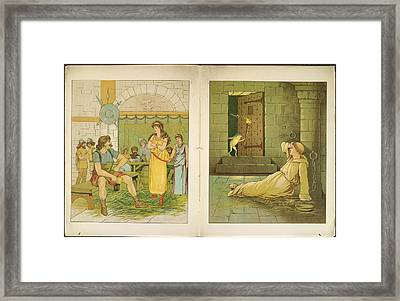 The Marsh King's Daughter Framed Print by British Library