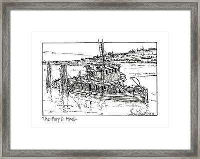 The Mary D. Hume Framed Print by Ira Shander