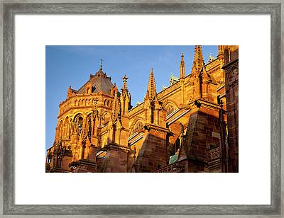 The Massive And Beautifully Detailed Framed Print by Brian Jannsen