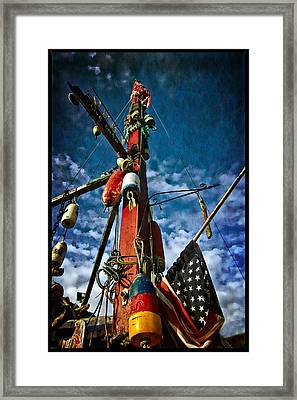 Patriotic Framed Print by Thom Zehrfeld