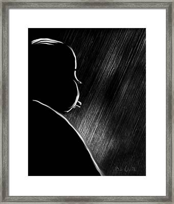 The Master Of Suspense Framed Print by Bob Orsillo