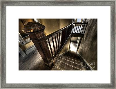 Historic Meade Hotel Montana 1 Framed Print by Bob Christopher