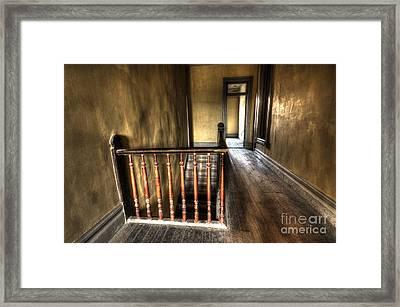 Historic Meade Hotel Montana 3 Framed Print by Bob Christopher