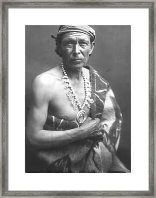 The Medicine Man Framed Print by William J Carpenter
