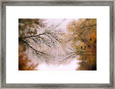 The Meeting Framed Print by Michelle Ayn Potter