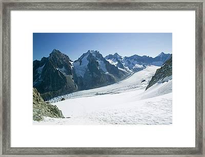 The Mer Du Glace Framed Print by Ashley Cooper