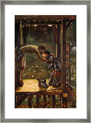 The Merciful Knight Framed Print by Mountain Dreams