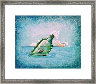 The Messenger Framed Print by Cindy Thornton