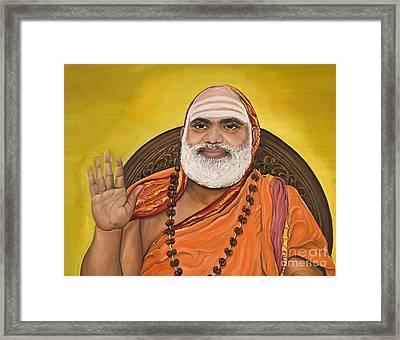 The Messenger Framed Print by Sweta Prasad
