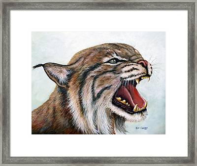 The Mighty Roar Framed Print by Jeff Conway