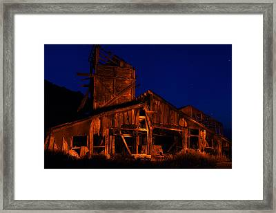 The Mill Framed Print by Greg Thelen