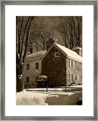 The Miller's House Framed Print by Gordon Beck