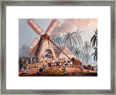 The Millyard, From Ten Views Framed Print by William Clark