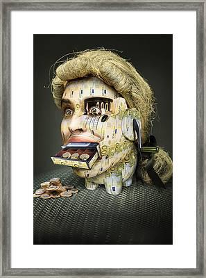 The Miser Molier Framed Print by Ddiarte